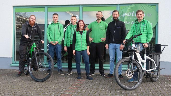 Das Team des Dreirad Zentrums Gießen
