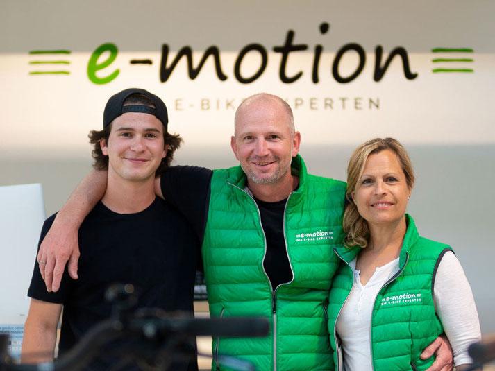 Das Team des Dreirad-Zentrums Werder