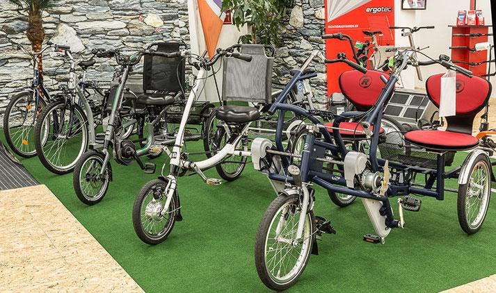 Van Raam Dreiräder testen und kaufen im Dreirad-Zentrum Nürnberg