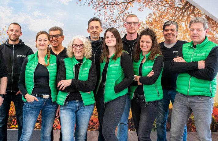 Das Team des Dreirad-Zentrums Fuchstal