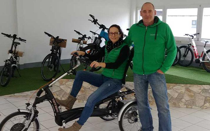Das Team des Dreirad-Zentrums Merzig
