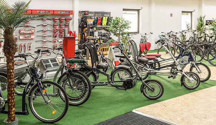 Elektro-Dreirad Probefahrt im Dreirad Zentrum Nürnberg