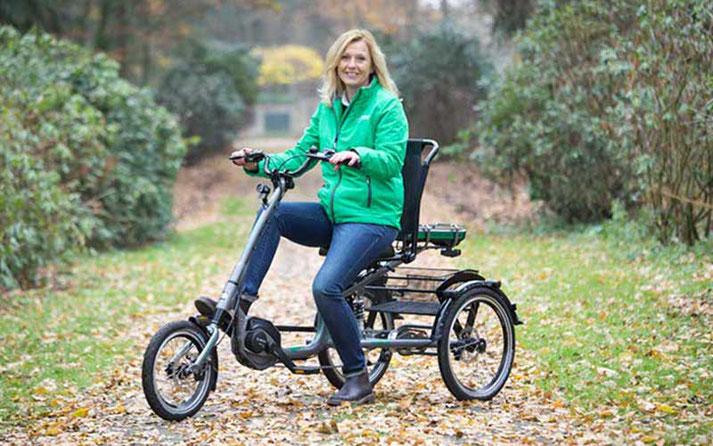 Nina aus dem Dreirad-Zentrum Bielefeld