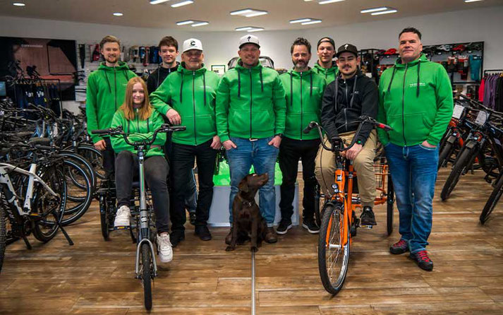 Team Dreirad Zentrum Erfurt
