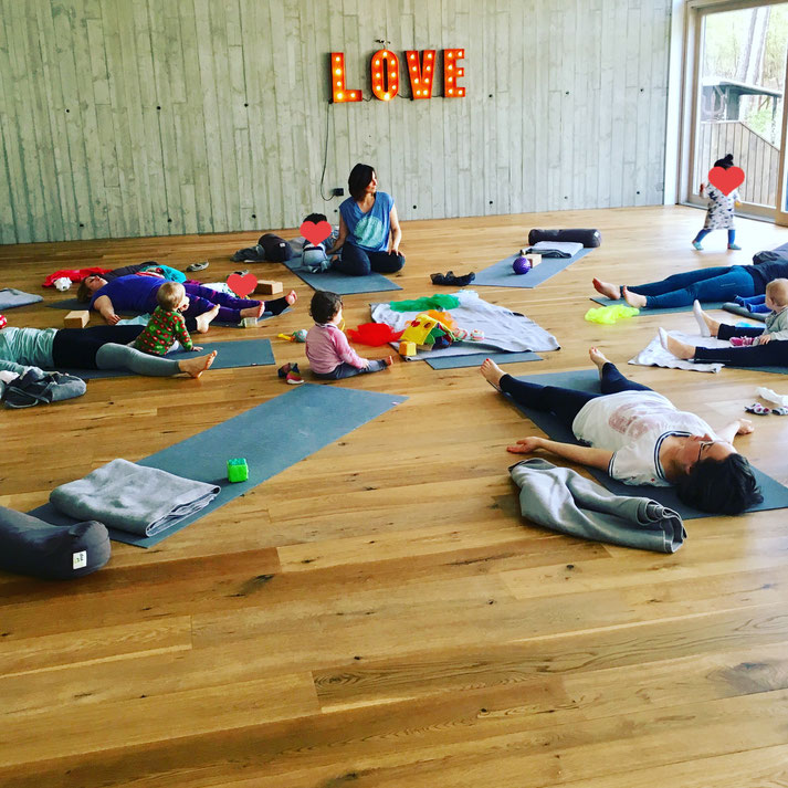 Yoga Mama Blog MOMazing: Mama und Baby Yoga Retreat im Kubatzki an der Nordsee in St.Peter-Ording.