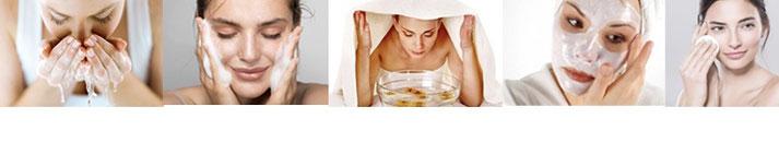 i 5 passaggi necessari per la pulizia del viso fatta in casa fai da te