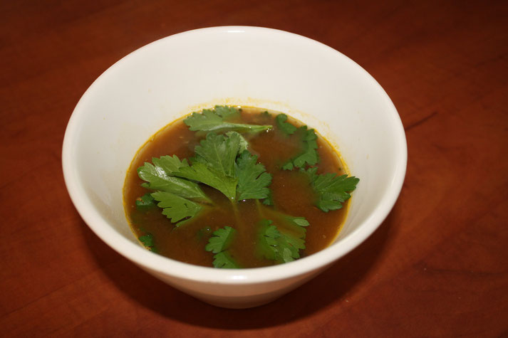 N.E.W. Natures Earth Works  Chilli Vegetabe Miso Soup recipe for Regenerate Your Life