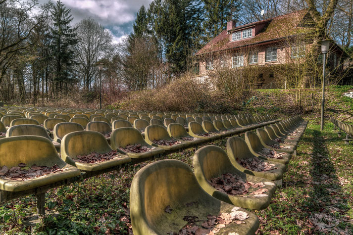 Abandoned Open Air Theater in Northern Germany