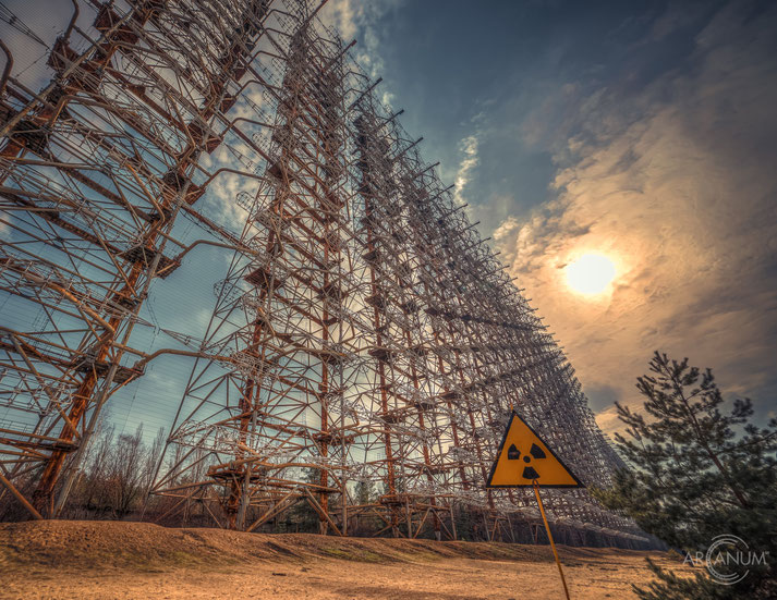 Duga-1 Radar Station in the Chernobyl Exclusion Zone