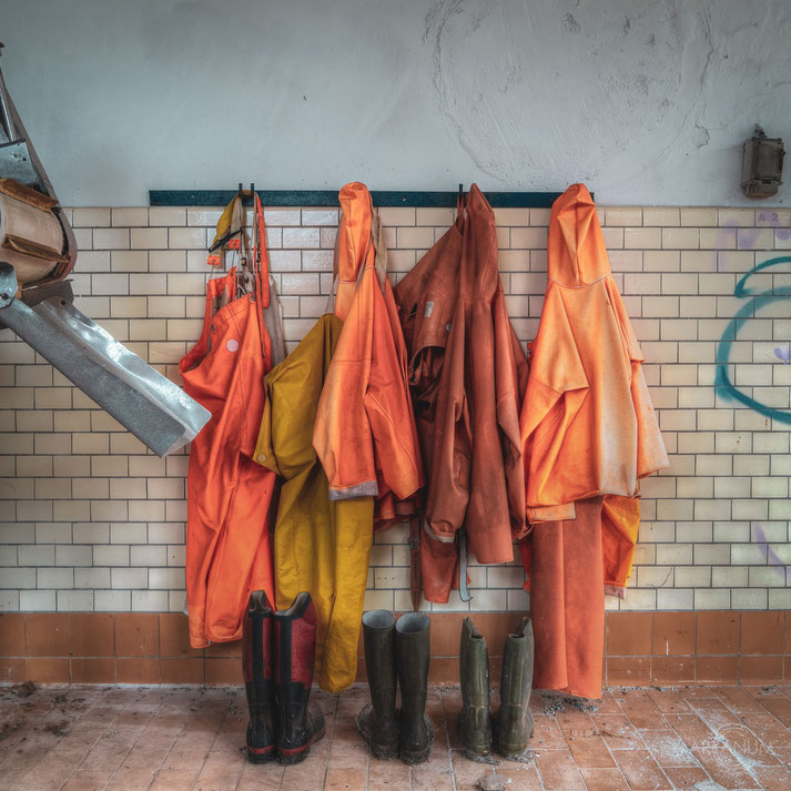 Abandoned Fish Factory in Denmark