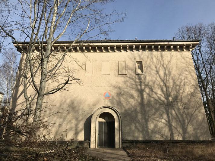 Abandoned Wolrd War II Air Raid Shelter in Germany