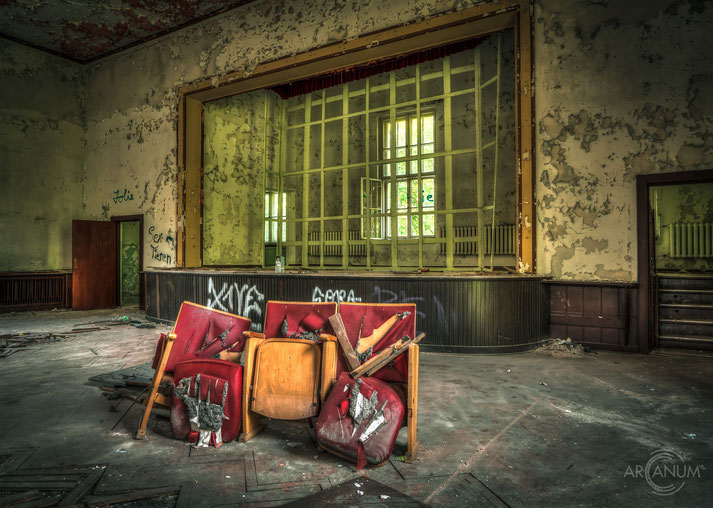 Abandoned Rest Home in Eastern Germany
