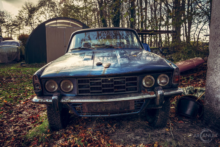 Abandoned Old cars in Denmark
