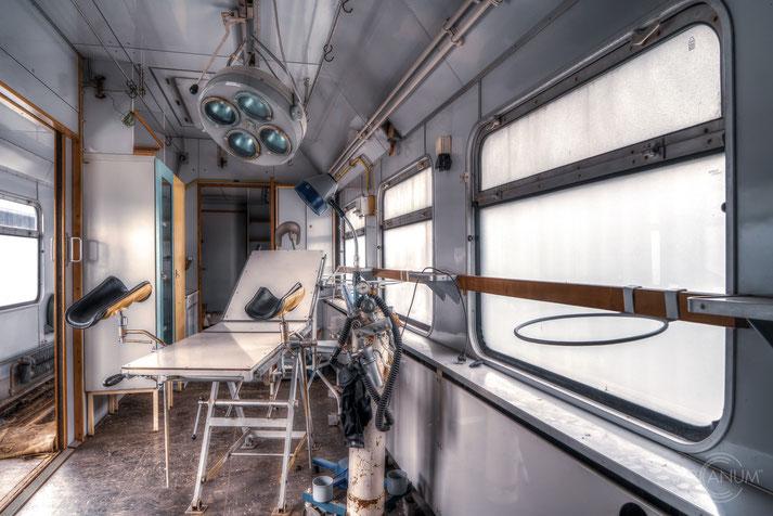 Catastrophe Train of the East German Railroad