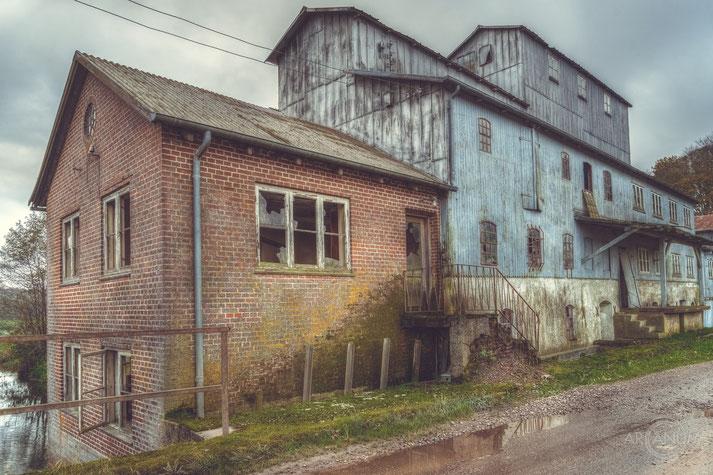Abandoned Mill in Denmark