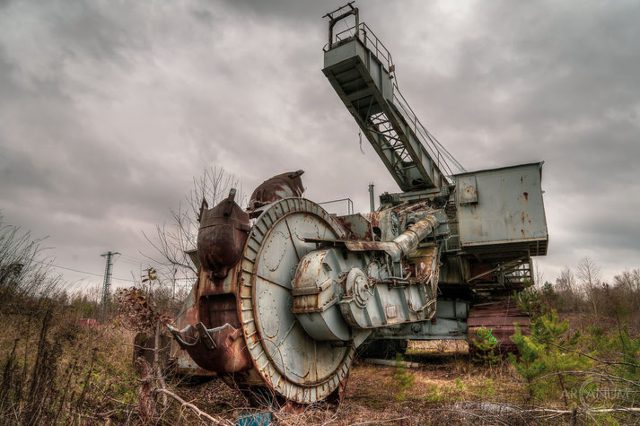 Abandoned Gravel Pit in Germany