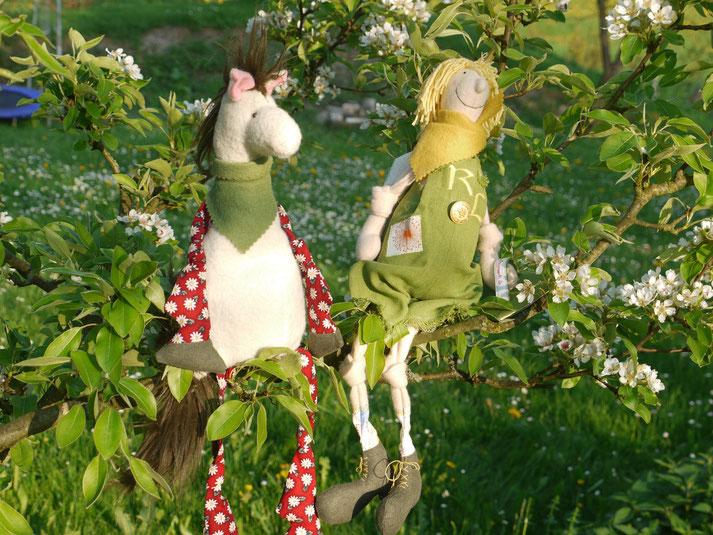 Der Ritter Richard Löwenzahn und sein Pferd Gänseblümchen
