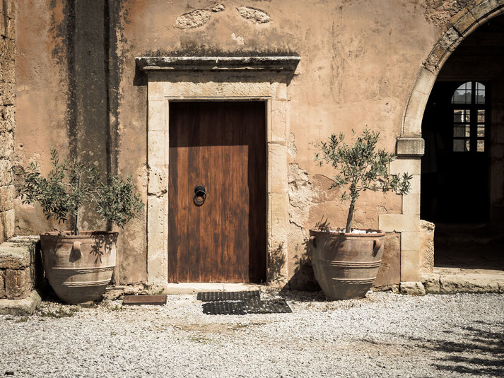 innerhalb der Klostermauern