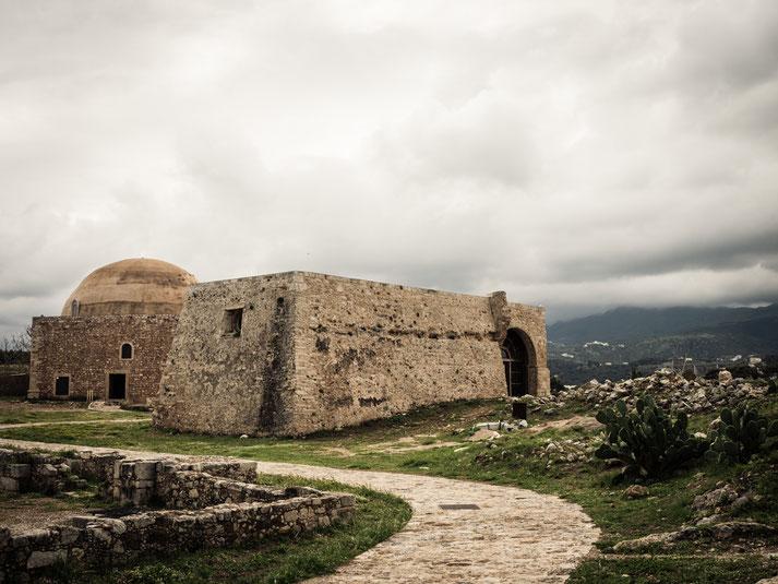 in der Festung von Rethymno