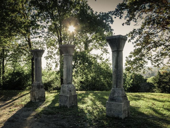im Park hinter dem Castello di Buttrio