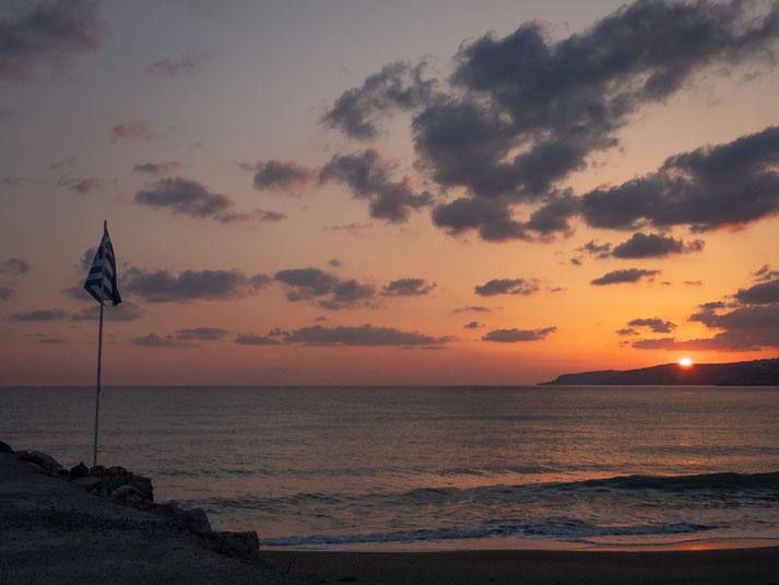 Sonnenaufgang 22.04.2019 um 06.00 Uhr; nach einem kurzen Frühstück ging es zum Flughafen und wieder nach Hause...