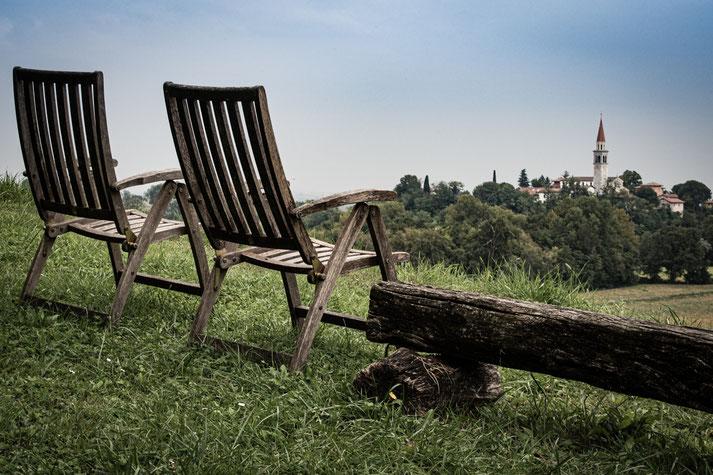 Bernds persönlicher Lieblingsplatz in Friaul (nahe Moruzzo, ca. 9 km von Udine entfernt)