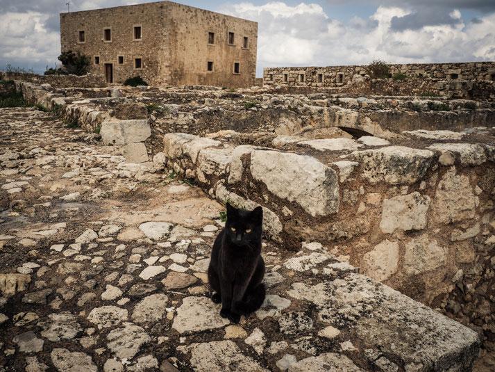 auf der fortezza in Rethymno