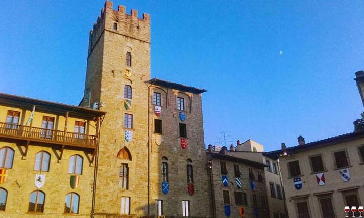 Arezzo, Toscana, Italia. Itinerari di vino. Blog Etesiaca