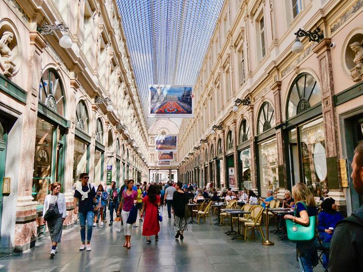 Brüssel Belgien, Galerie de la Reine, Passagen der Königin