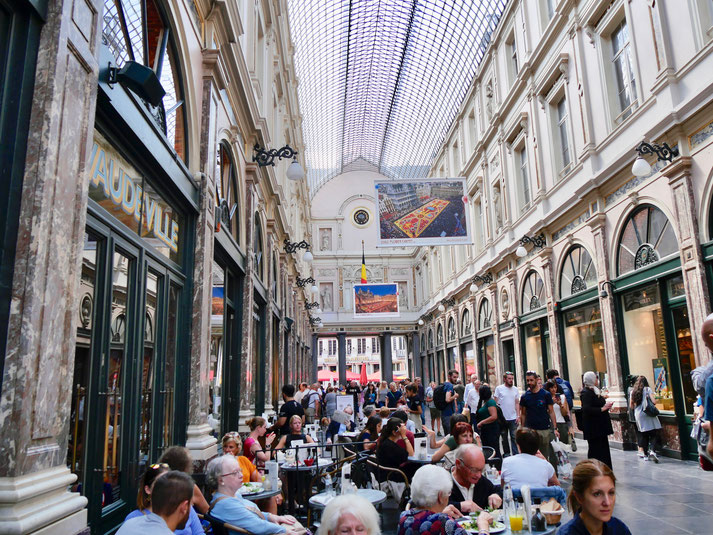 Galerie de la Reine, Passage der Königin Brüssel Belgien