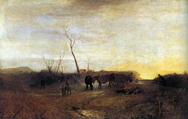 "William Turner, ""Mattino gelido"" (1813)"