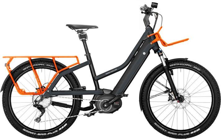 Riese und Müller e-Cargobike, Lasten e-Bike, Lastenfahrrad mit Elektroantrieb Multicharger Mixte GT Touring 2020