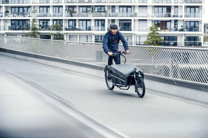 Riese und Müller e-Cargobike, Lasten e-Bike, Lastenfahrrad mit Elektroantrieb Load