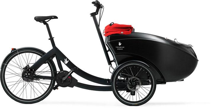 Triobike Mono E Lasten e-Bike / Cargo e-Bike 2020