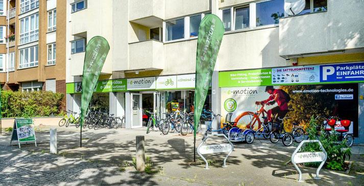 Lastenfahrräder, e-Cargobikes und Lasten e-Bikes kaufen, Probefahren und Services im Lastenfahrrad-Zentrum Berlin-Steglitz