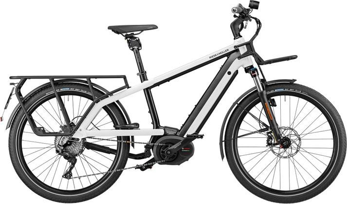 Riese und Müller e-Cargobike, Lasten e-Bike, Lastenfahrrad mit Elektroantrieb Multicharger GT Touring 2020