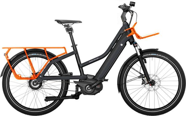 Riese und Müller e-Cargobike, Lasten e-Bike, Lastenfahrrad mit Elektroantrieb Multicharger Mixte GT Vario 2020