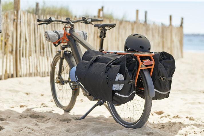 Riese und Müller e-Cargobike, Lasten e-Bike, Lastenfahrrad mit Elektroantrieb Multicharger