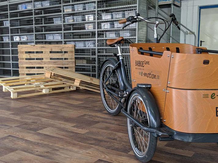 Dreiräder kostenlos probefahren und kaufen in Heidelberg - in unserem Lastenfahrrad-Zentrum Heidelberg