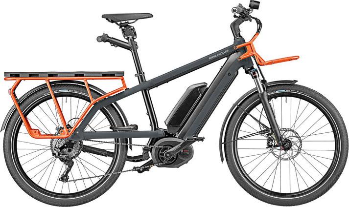 Riese und Müller e-Cargobike, Lasten e-Bike, Lastenfahrrad mit Elektroantrieb Multicharger GT Light 2020