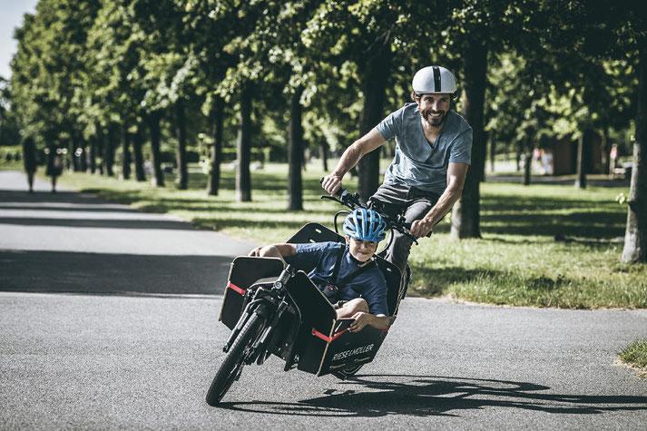 Lasten e-Bikes probefahren und kaufen in der e-motion e-Bike Welt Hombrechtikon