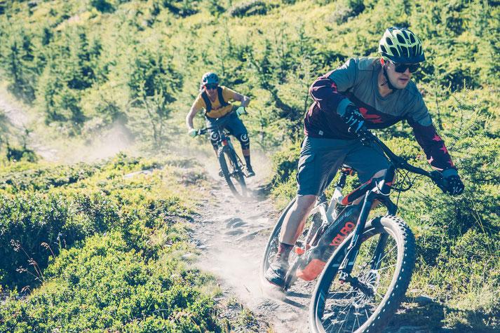 kompetente e-Mountainbike Beratung und kostenlose Probefahrten mit dem e-MTB in Bern