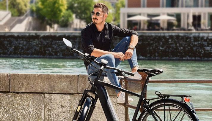 Cylan in der e-motion e-Bike Welt Aarau-Ost