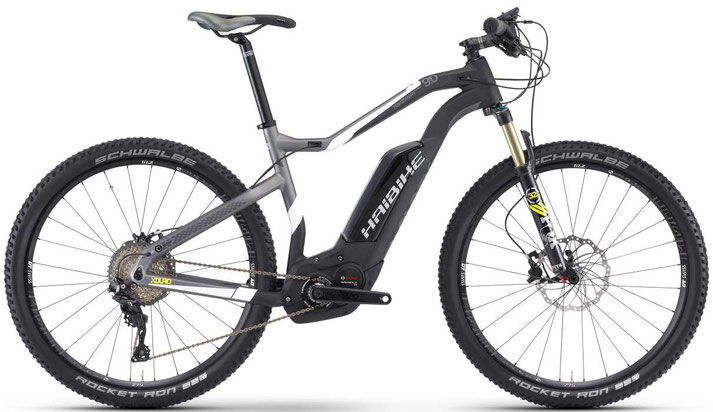 Haibike XDURO HardSeven Carbon 9.0 - 2017