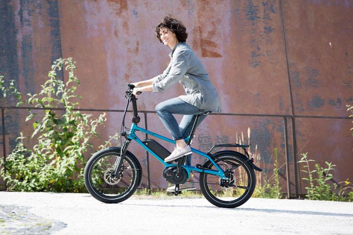 Falt- und Kompakt e-Bikes probefahren und kaufen in der e-motion e-Bike Welt in Hombrechtikon