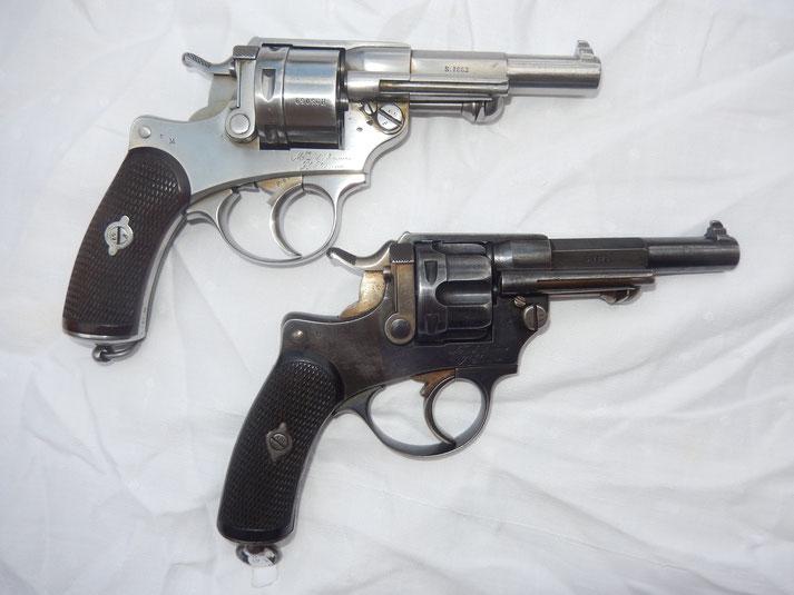 revolver mas 1873 et officier mas 74