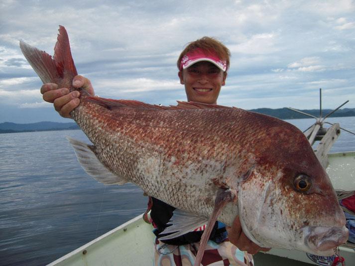 真鯛 86cm 7.08kg