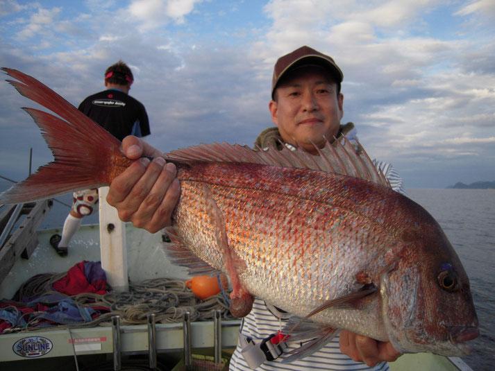 真鯛 64cm