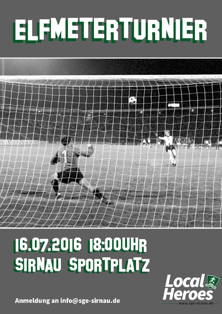 Elfmeterturnier SG Eintracht Sirnau