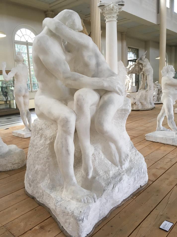 Der Kuss, Gipsmodell von Rodin, Musée Rodin Meudon